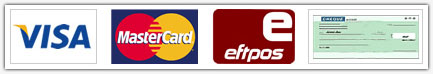 Credit Card Logos and Payment Options